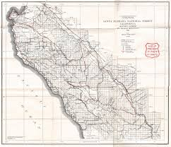 Santa Barbara Map Classic Maps Dcr Spring 2006