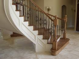 Indoor Railings And Banisters Stair Railing Ideas Design Translatorbox Stair