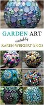 New Year Garden Decoration by Best 25 Garden Crafts Ideas On Pinterest Diy Yard Decor