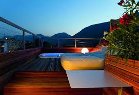 design hotel meran on roof top terrace of paradise loft picture of boutique