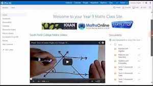 office 365 for education 3 site templates in sharepoint youtube