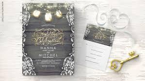 Mason Jar Wedding Programs Rustic Wedding Wedding Invitations By Jinaiji