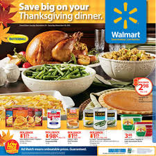 new walmart thanksgiving flyer is out grocery shop for free at