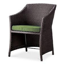 loft 5 piece wicker patio conversation furniture set threshold