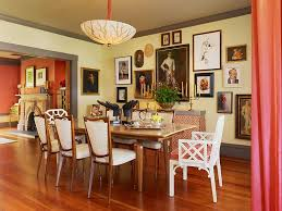 dining room trim ideas room trim ideas dining room eclectic with wall decor yellow walls