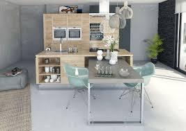 modele cuisine avec ilot central table cuisine design ilot central buffet cuisine alinea design
