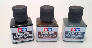 amps reviews tamiya u2013 panel line accent color black brown