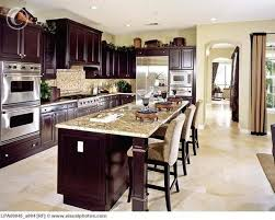 Best  Dark Wood Cabinets Ideas On Pinterest Dark Wood - Kitchen decorating ideas with dark cabinets