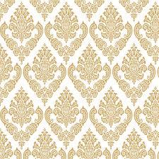 Fabuloso Papel de Parede Arabesco cor ouro 24 no Elo7   ADECORAR (913883) @RX22