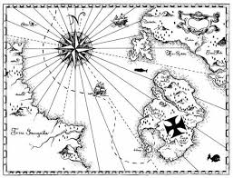 World Map Coloring Page World Treasure Map Coloring Page Kids Play Color Within Treasure