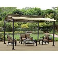 pergola patio outdoor gazebo canopy for garden shade 12 u0027 x 10