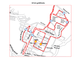 Map Run Route by Goldilocks Fun Run Kulit On The Run