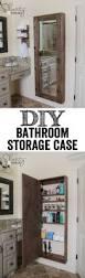 best images about diy bathroom decor pinterest medicine diy bathroom mirror storage case