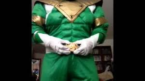 green ranger classic muscle costume review youtube