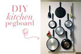 Kitchen Pegboard Ideas Amazing Kitchen Storage Ideas