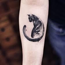 best 25 black cat tattoos ideas on pinterest cat tattoos