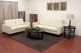 leather livingroom set caledonia leather modern sofa set affordable modern