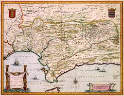 Map Of Southern Spain Southern Spain Deze Kaart Van De Zuidelijke Provincies Van Spanje