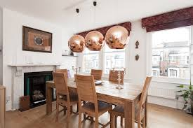 Copper Pendant Lights Pendant Lights With Beautiful Copper Shades Become The Center Of