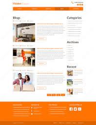 Home Decorating Website Home Decor Psd Website Template Webbytemplates Com