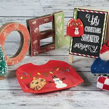 ugly sweater dish and ornament ilovetocreate