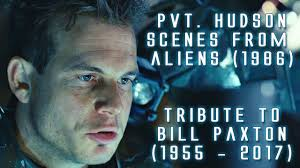 pvt hudson scenes from aliens in hd tribute to bill paxton