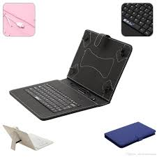 Leather Keyboard Tablet 10 Inch Us Stock 10 Inch Mirco Usb Keyboard Pu Leather Stand Smart