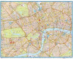 map az scale wall map of central az