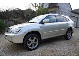 used lexus suv anchorage used lexus rx 400h suv 3 3 se cvt 5dr in kirtlington oxfordshire
