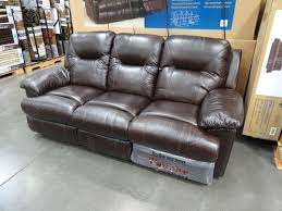 Leather Sectional Sofa With Power Recliner Furniture Costco Leather Reclining Sofa Costco Sectional Sofa
