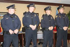 rockford welcomes new police officers mlive com