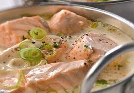 recette de cuisine pour le soir blanquette de saumon légère weight watchers une recette facile et