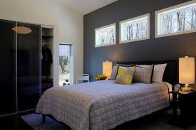 bedroom stunning gray wall paint for bedroom feat black single