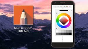draw with autodesk sketchbook app in mobile sketchbook pro phone