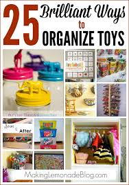 how to organize toys 25 brilliant ways to organize toys lemonade