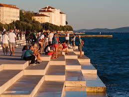 Sea Organ Dalmatia Zadar Adriacamps