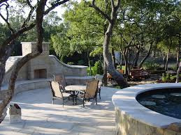 Outdoor Fireplace Chimney Height by Outdoor Fireplaces Austin Outdoor Living