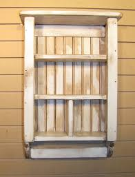 handmade primitive spice rack curio shelf w towel bar color