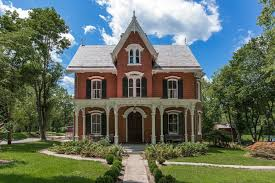 gothic revival architecture romantic homes spooky edge house