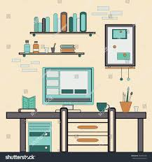 flat design vector illustration modern creative stock vector