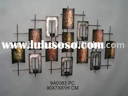 candle holders wall decor wrought iron wall decor candle holders