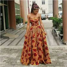 ankara dresses custom made print dress ankara gown dress
