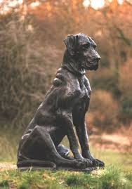 guard dog statue best 25 dog statues ideas on sugar skull mexican