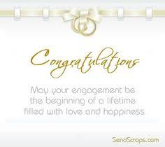 congratulate engagement to succeed is to sacrifice and to gain is a work to my