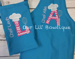 personalized apron etsy
