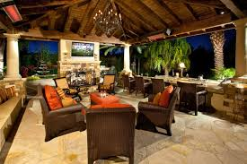 Tropical Patio Design Outdoor Kitchens Bbq U0027s