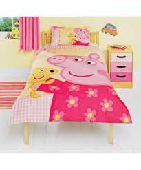 Peppa Pig Single Duvet Set Duvet Covers Peppa Pig Duvet Cover And Pillowcase Stars Design