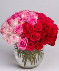 Flower Shop Troy Mi - colored long stem rose arrangement fresh flower arrangement in