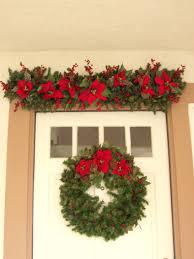 christmas decor front door pinterest fall doors above decor above