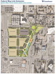Tos Map Federal Way Link Reaches Conceptual Design Feedback Requested